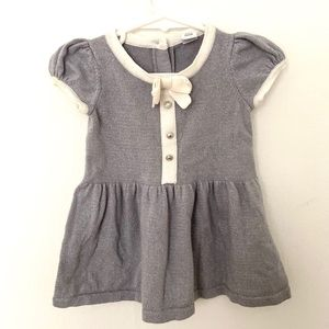 JANIE AND JACK 3-6 months sparkle silver dress